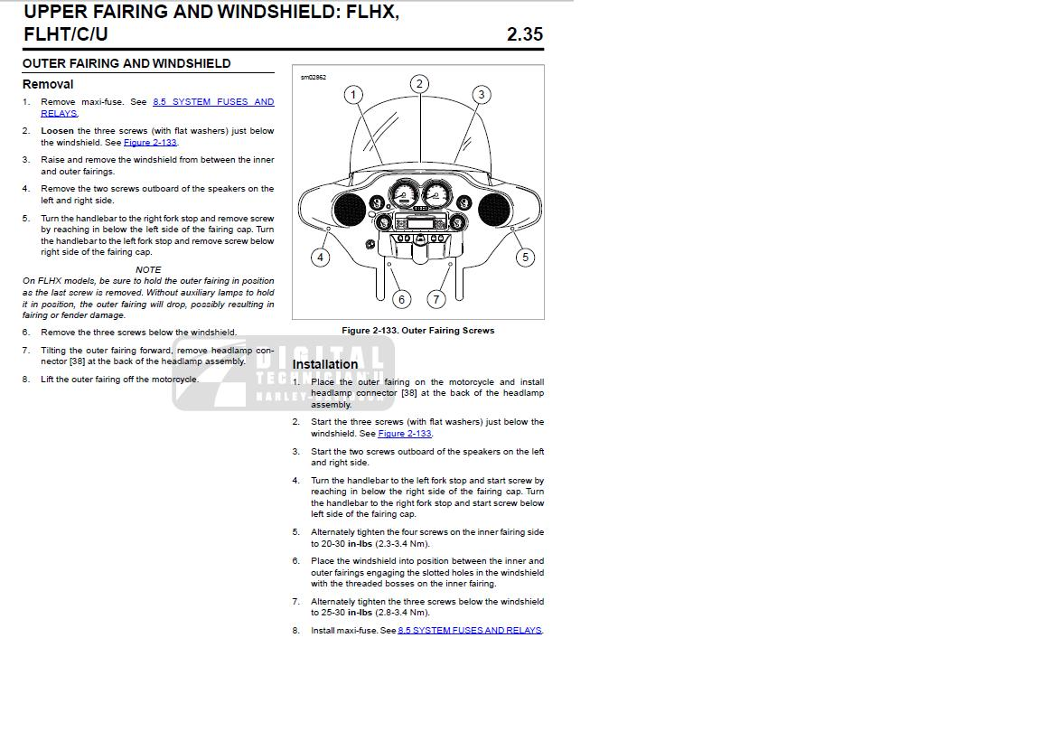 Harley Davidson Fairing Parts Diagram Quick Start Guide Of Wiring Custom Evo Motor Engine And Lower List