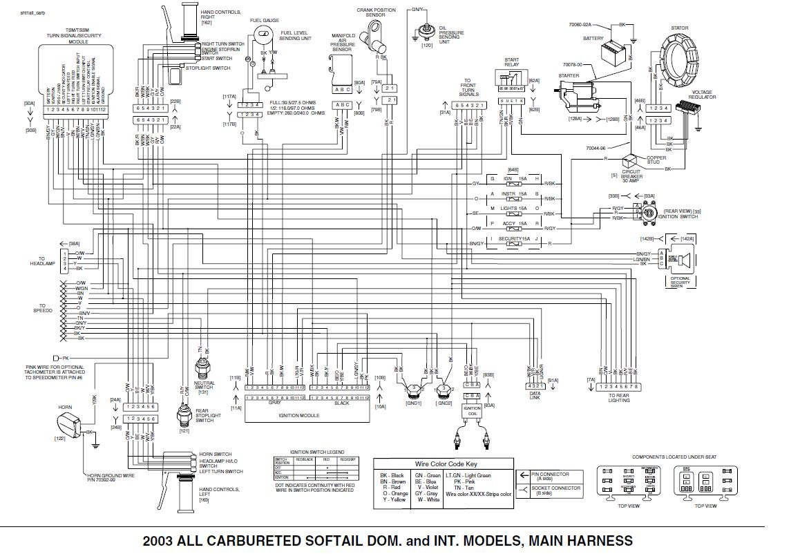 flstc wiring diagram best wiring library Basic Wiring Diagram i just got a harley flstc 03 and it looked like there was a hose yamaha