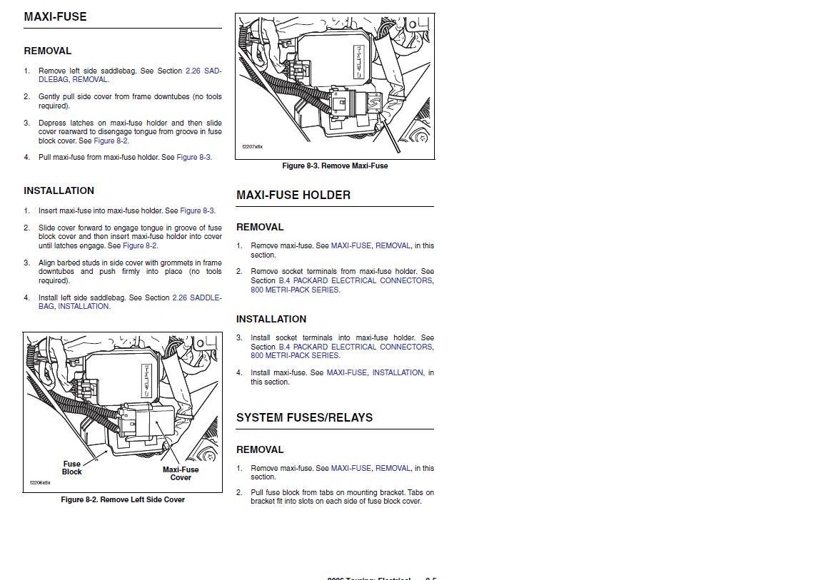 Harley Davidson Maxi Fuse Removal Box On Ultra Classic Graphic Diagram