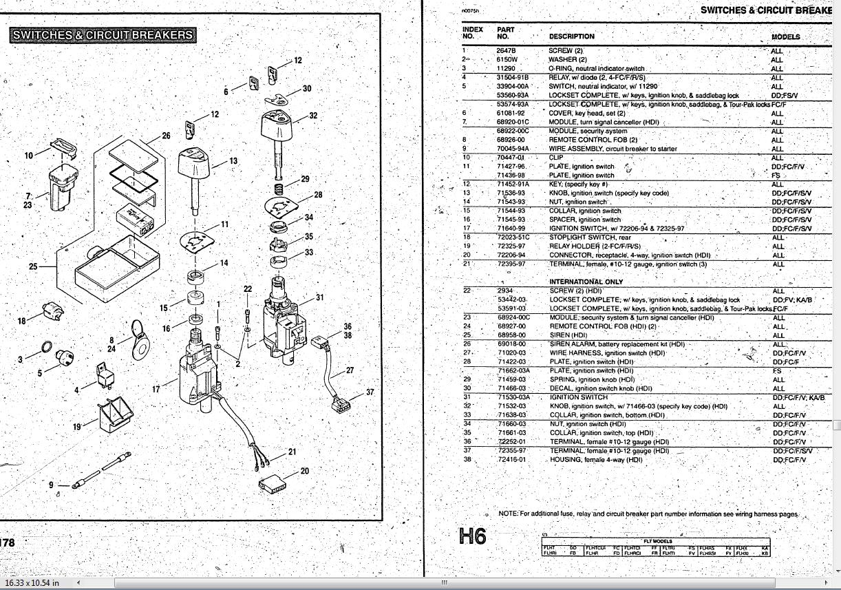Harley Ignition Diagram Free Wiring For You Davidson 2005 Dyna Super Glide Switch 30 Images Sportster Evo