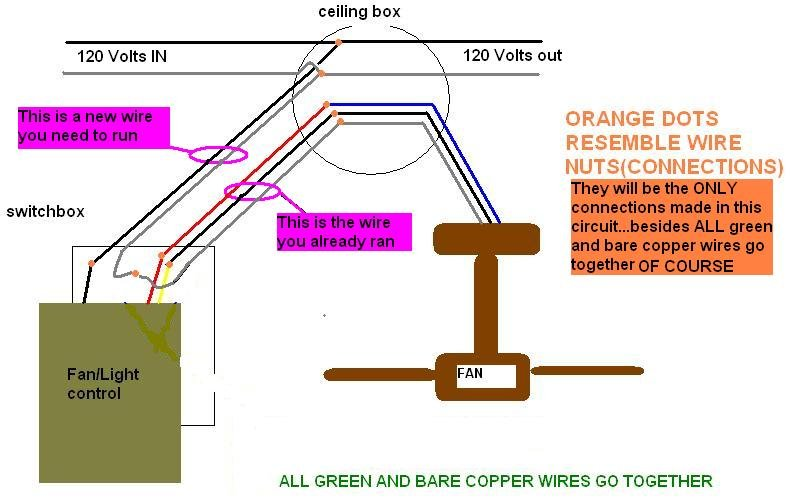 Hampton Bay Ceiling Fan Capacitor Wiring Diagram