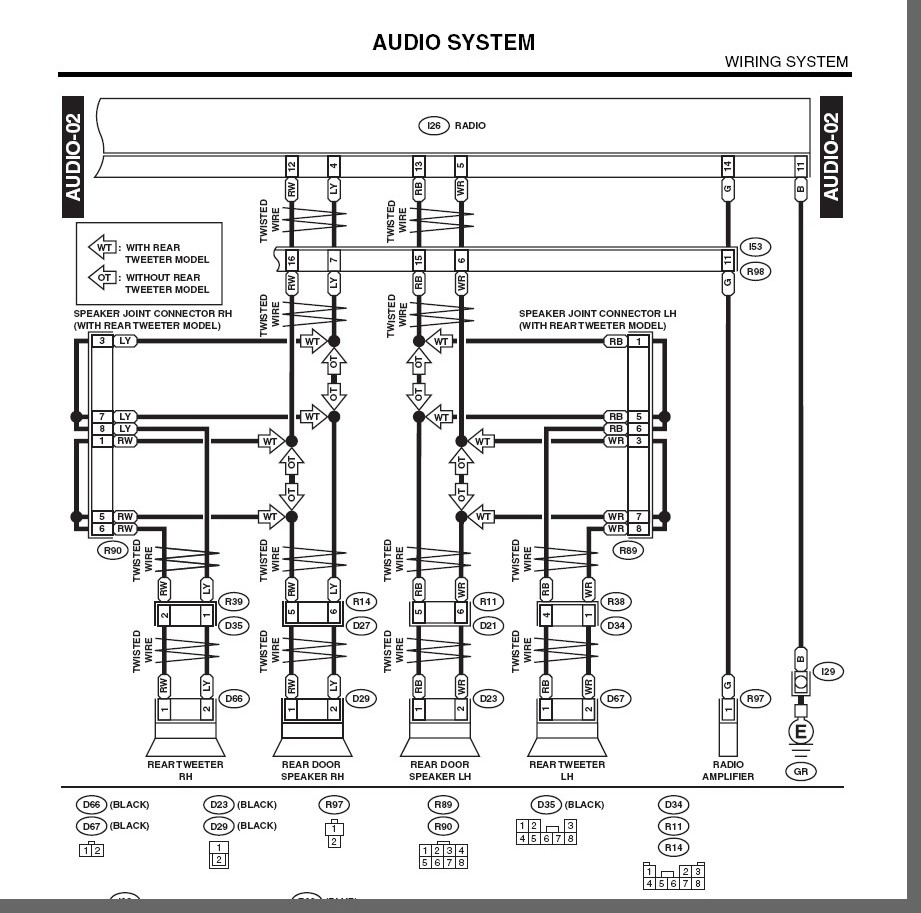 Window Control Wiring Diagram 2003 Subaru Forester