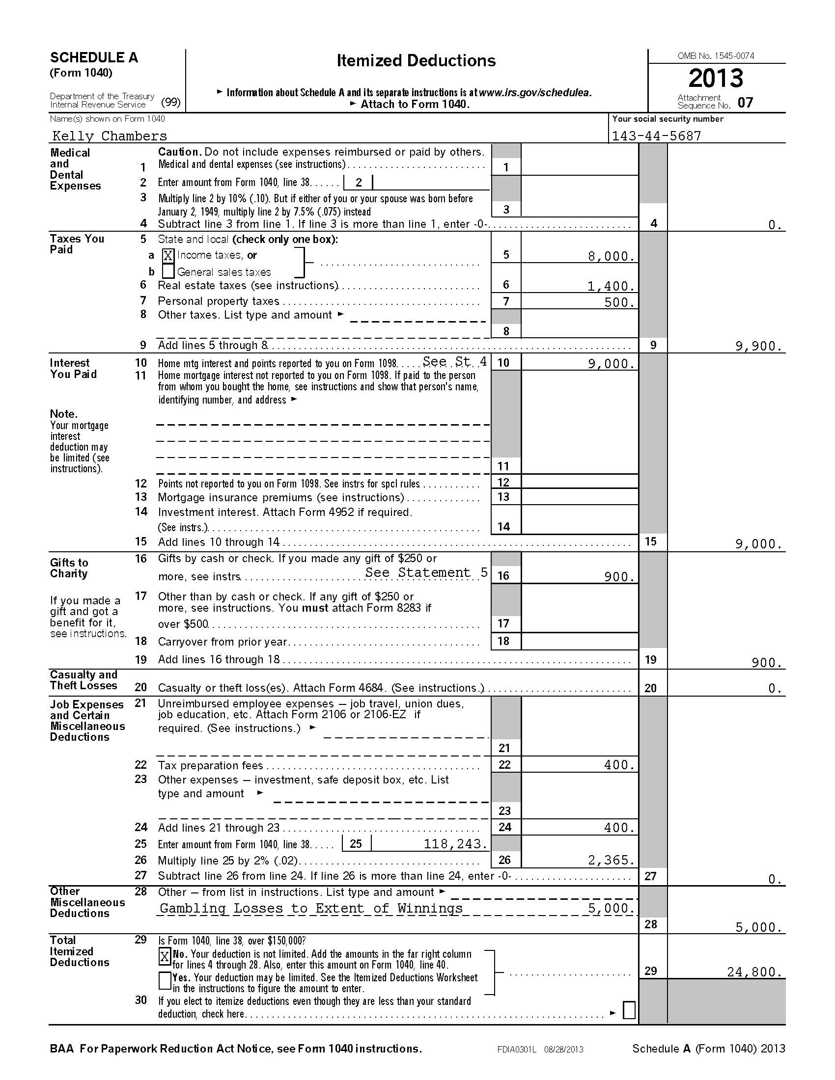 Irs Form 4952 Honghankk