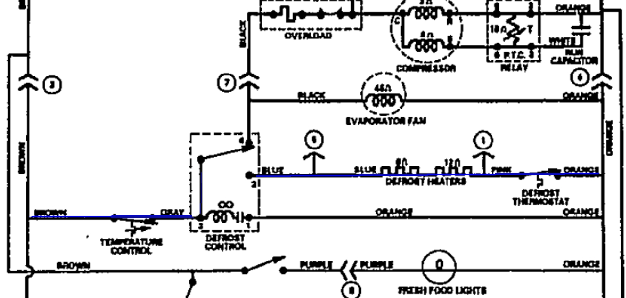 supco defrost timer wiring diagram paragon defrost timer
