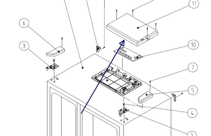 Daewoo Fridge Freezer Wiring Diagram
