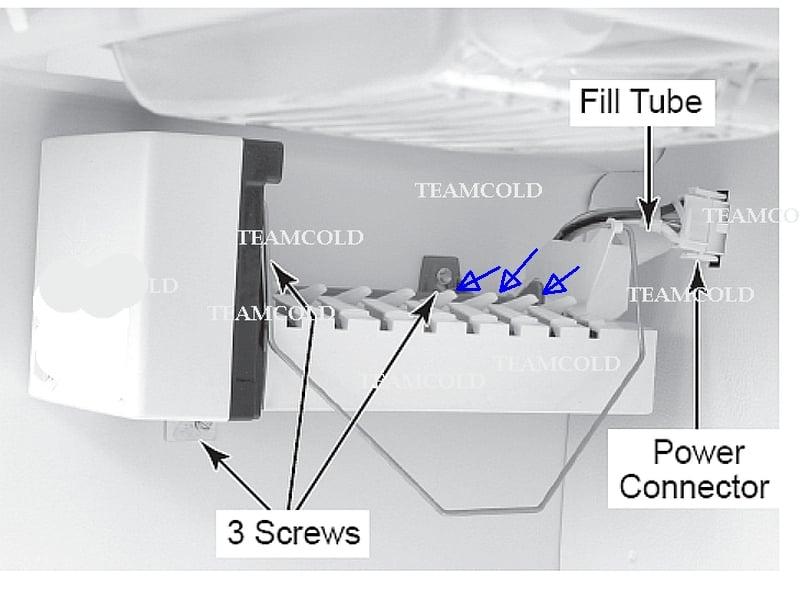 My Whirlpool Side By Side Refrigerator Leaks Water Into