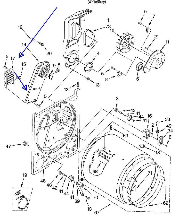 Wed Vq Whirlpool Dryer Wiring Diagram on