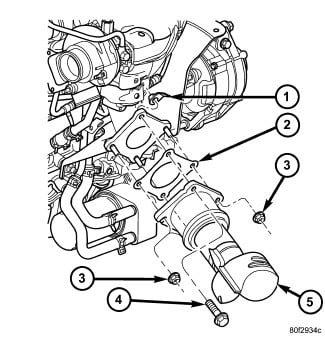 there's exhaust coming out of the engine of my 2004 pt cruiser pt cruiser exhaust pipe diameter at Pt Cruiser Exhaust Diagram