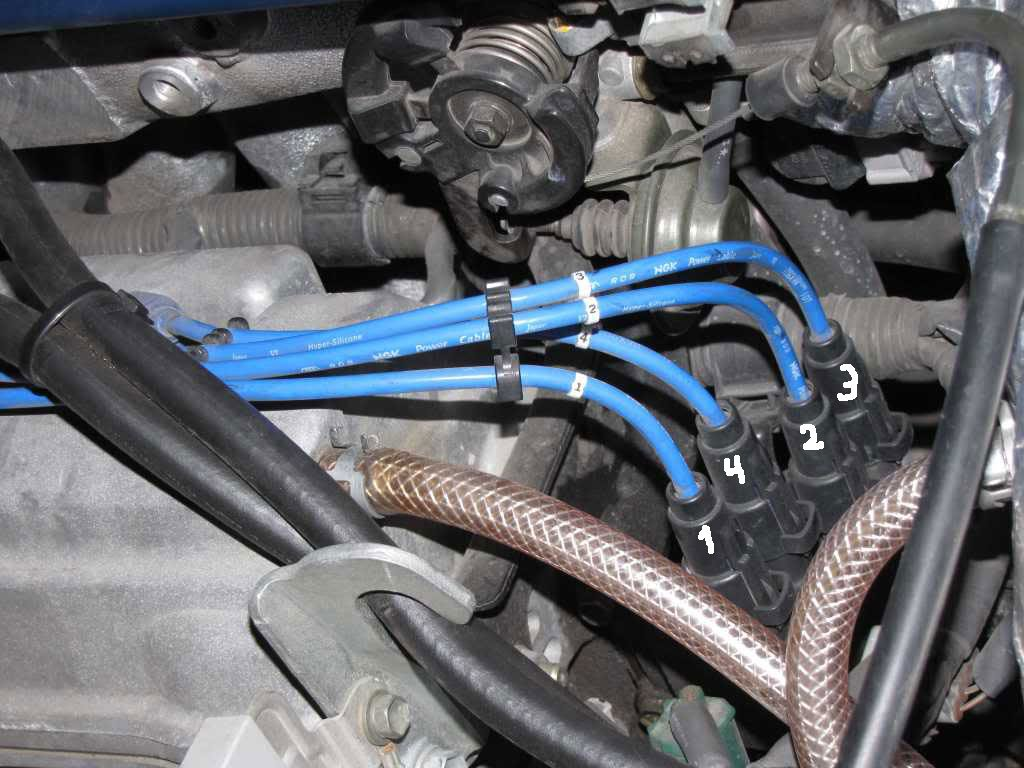 2000 Rav4 Replace Spark Plugs  U0026 Ignition Wires Won U0026 39 T Start