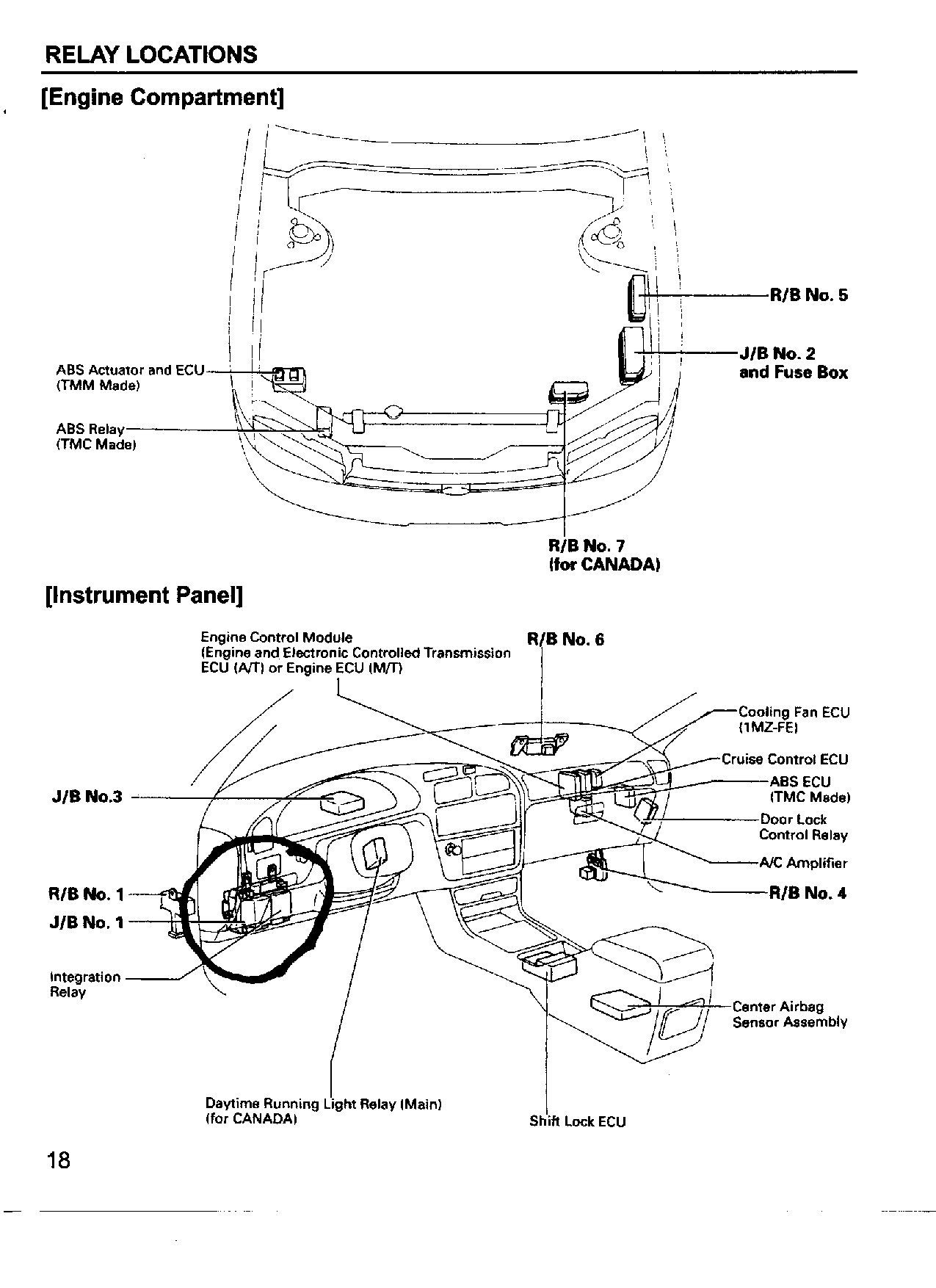 i have a 1993 toyota camry windows wouldn t go up after i put them rh justanswer com 2006 toyota wish fuse box diagram 1987 Toyota Camry Fuse Box Diagram