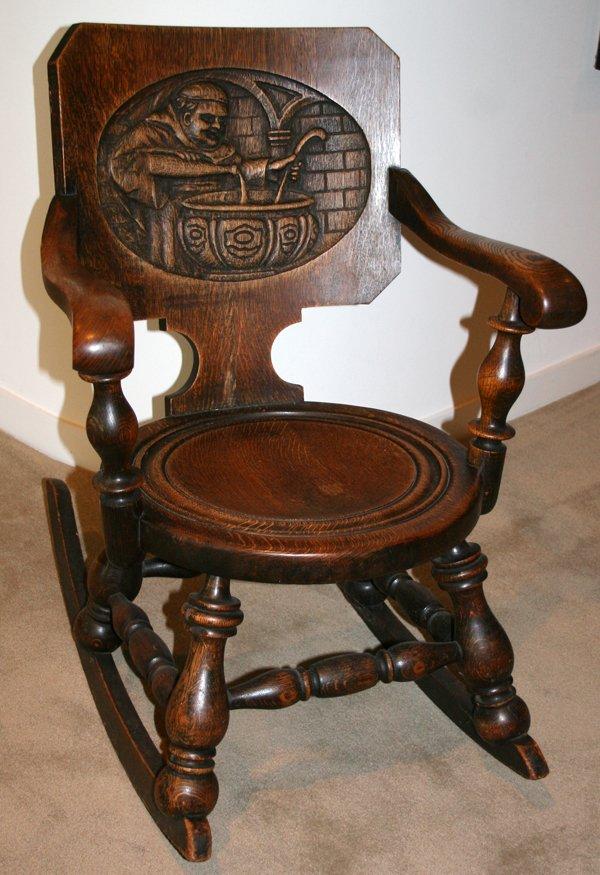 Remarkable I Purchased An Old Rocker From An Antiques Dealer In Taos Inzonedesignstudio Interior Chair Design Inzonedesignstudiocom