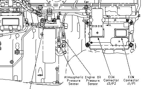 Where Is The Oil Pressure Sensor Located On A 2007