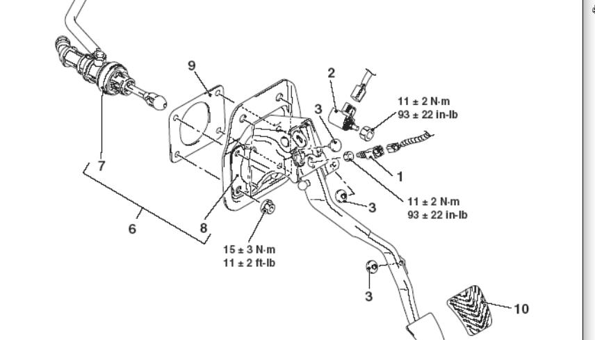 2003 mitsubishi lancer clutch master cylinder diagram html