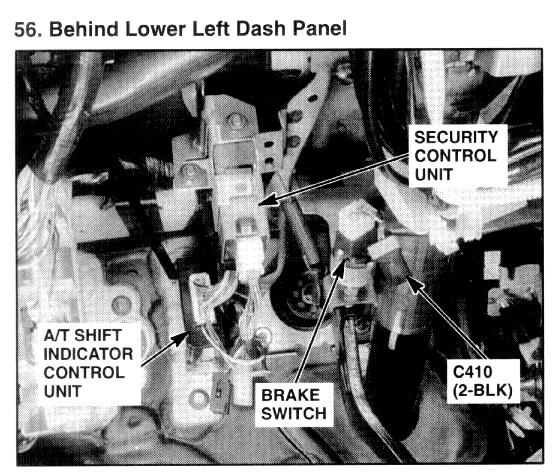 On A 1996 Isuzu Trooper Starter Relay Diagram   45 Wiring