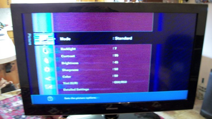 I have a Sony Bravia KDL40V2000  The picture goes completely off