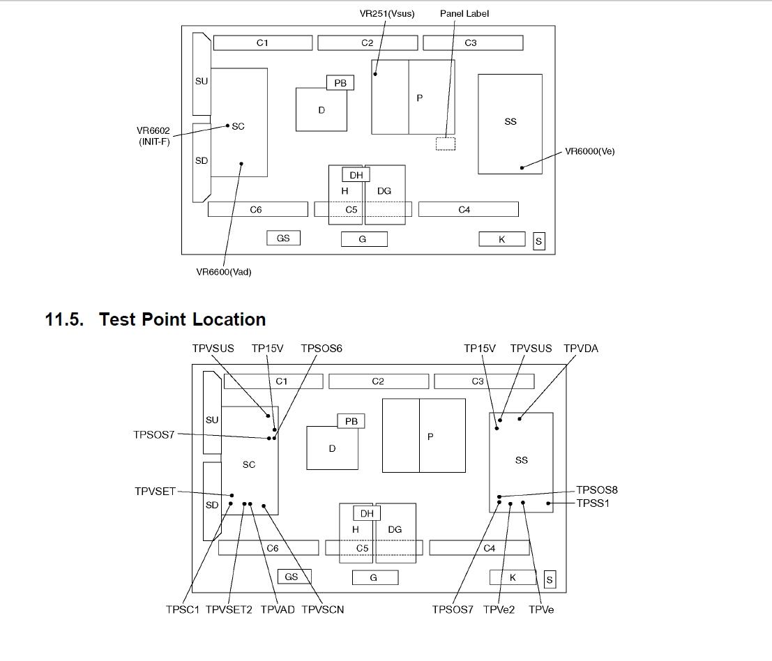 I Have A 50 Inch Panasonic Plasma Flat Screen Tv Model Th50pe700u It Engineering Schematics Graphic