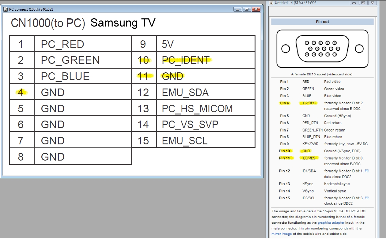 I Have A Series 5 550 Tv 46 Samsung And Now Am Having Trouble Blue Micro Usb Wiring Diagram Graphic