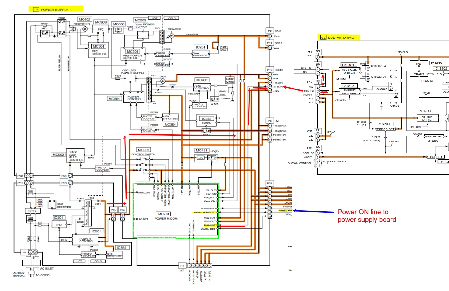 Wrg 9867 Tv Power Schematic Samsung Circuit Diagram Vizio Wiring Starting Know About U2022
