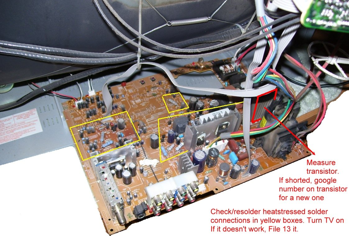 I Have A 42in Plasma Samsung From 8 04 The Picture No Longer Comes Tvs Together With 42 Inch Tv Circuit Boards On Graphic
