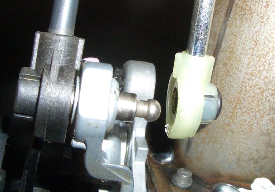Transmission Shifter Linkage on 1991 Toyota Tercel Engine Gear