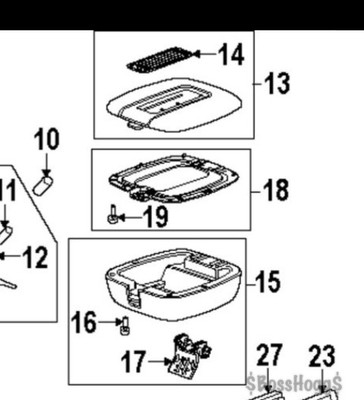 i want to replace the center console lid on my 2009 denali i bought acadia wiring schematics gmc acadia center console wiring diagram #4