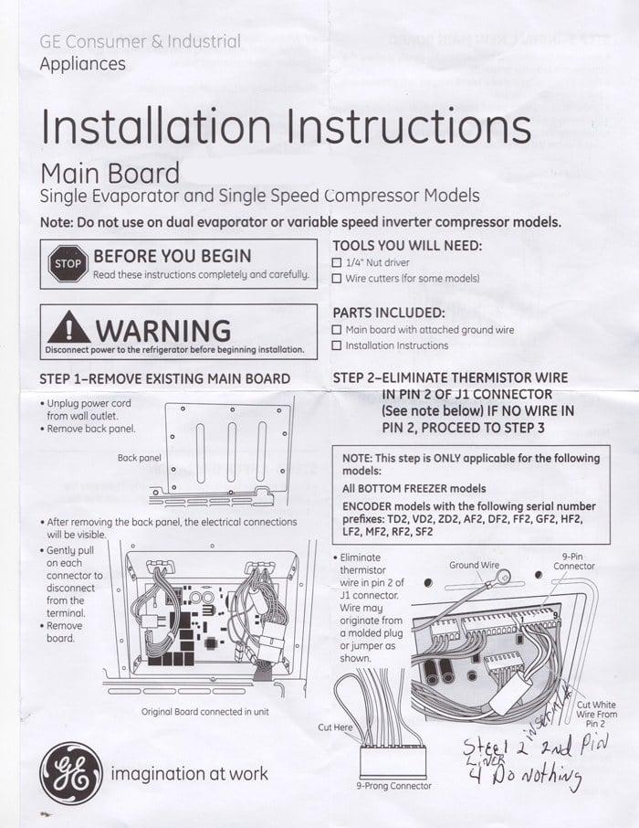 My Ge Monogram Refrigerator Ice  Water Dispenser Not