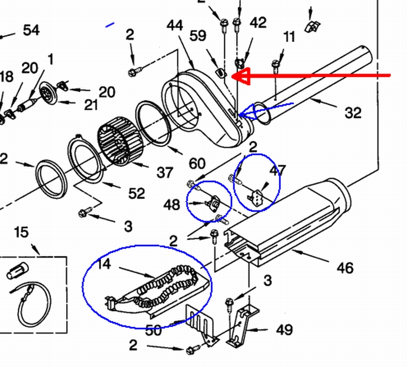 Kenmore series dryer wiring diagram