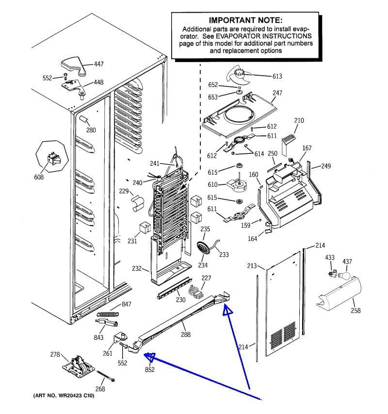refrigerator no dispenser. graphic refrigerator no dispenser e