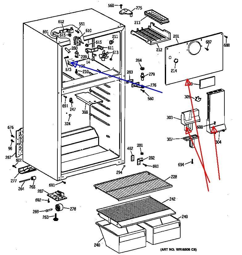 hotpoint refrigerator wiring diagram sub zero refrigerator