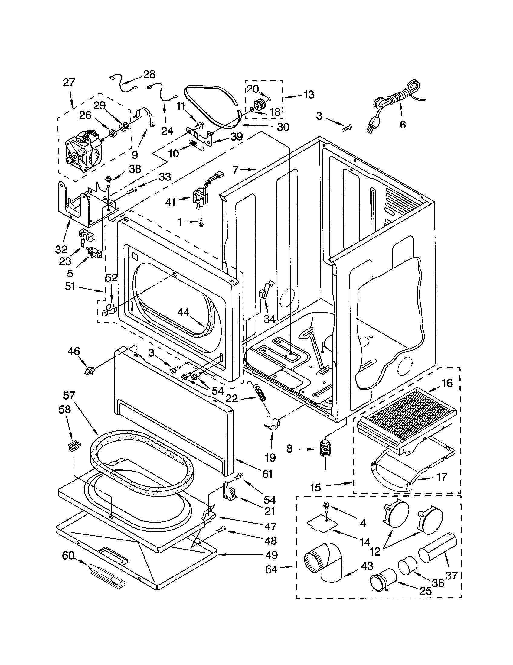 I Have A Kenmore Elite Sensor Smart Gas Dryer  Model 110