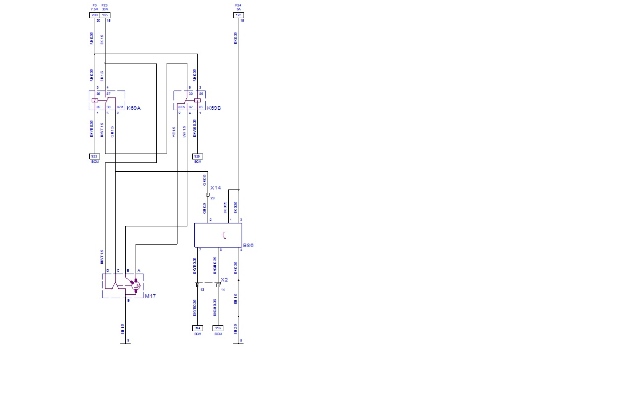As I Understand It  There Are Two Relays For The Windscreen And Rear Screen Washer Motor On The