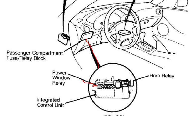 1994 Honda Del Sol Main Relay
