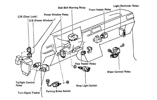 air conditioner wiring diagram toyota 1990 pickup html