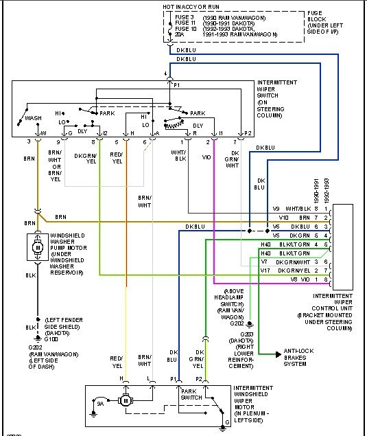 Wiring Diagram For Van Conversion : Dodge b conversion van wiring diagram