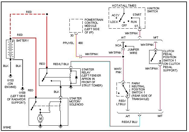 93 ford tempo hi replacing the solenoid starter without a key rh justanswer com Basic Ford Solenoid Wiring Diagram 1947 Ford Starter Solenoid Wiring