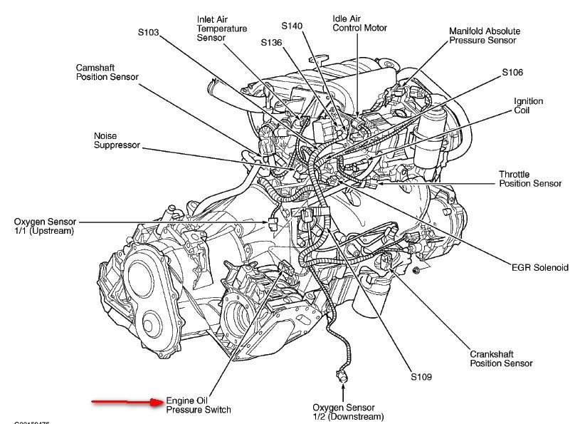 2003 pt cruiser hose diagram