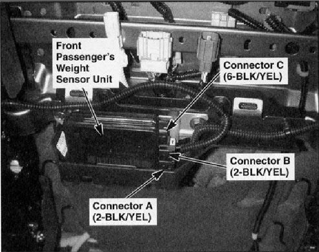 Wiring Schematic For Passenger Airbag Sensor On 2006