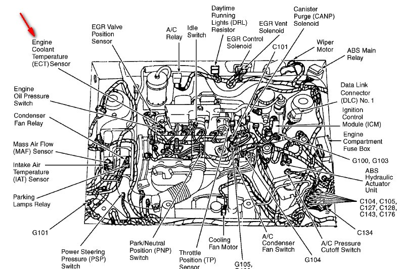 throttle position sensor replacement cost
