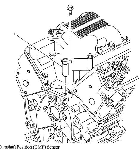 2004 Pontiac Bonneville Camshaft: How To Change Cam Sensor 2004 Pontiac Aztek 3.4