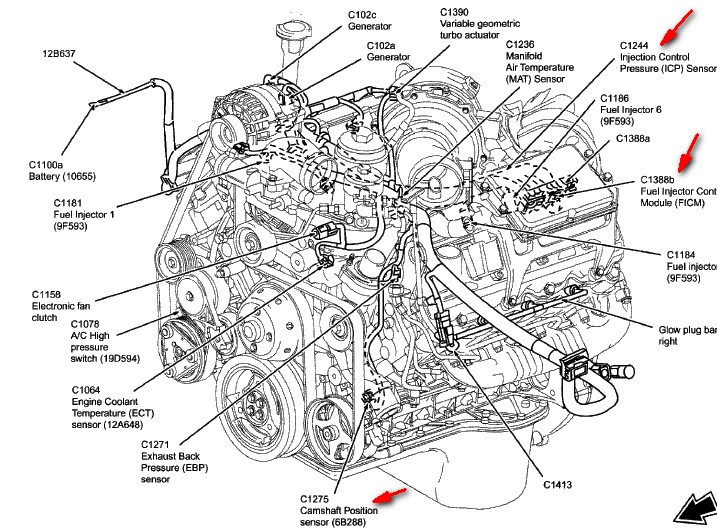 6 0 Powerstroke Fuel Filter Diagram Wiring Diagram And