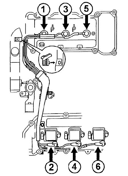 Diagram Of Coil Pack On 96 Lexus Es300