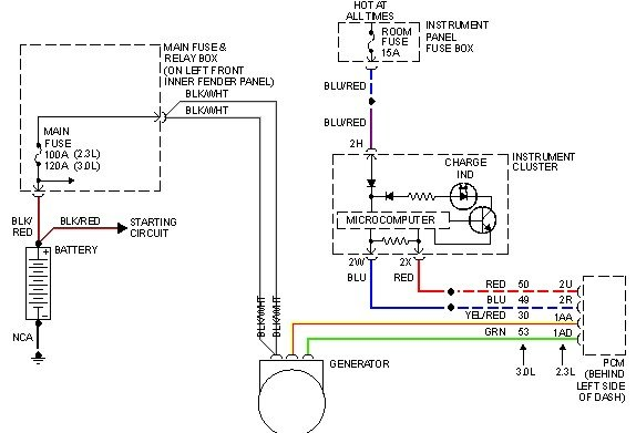 04 Mazda 6 Alternator Wiring Diagram : Mazda l wiring diagram diagrams