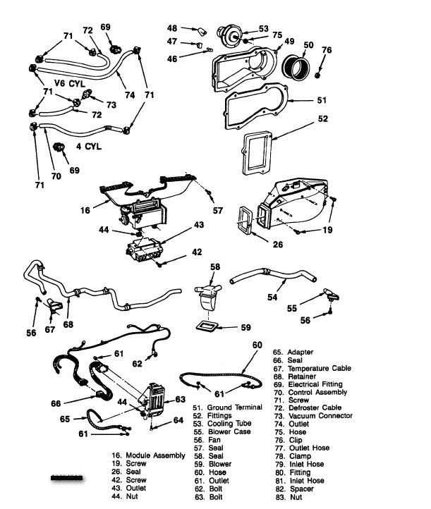 Wiring Diagram For A 68 Camaro