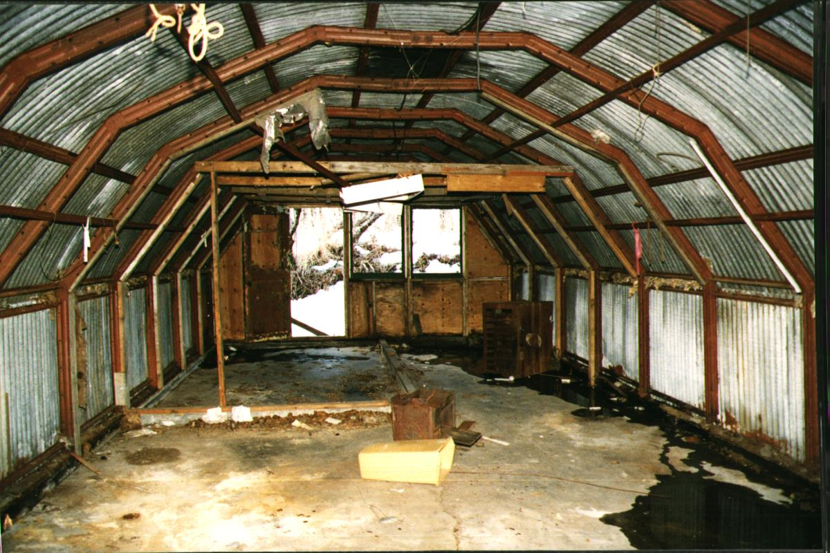 I Need To Support An Old Wooden Quonset Farm Building 60