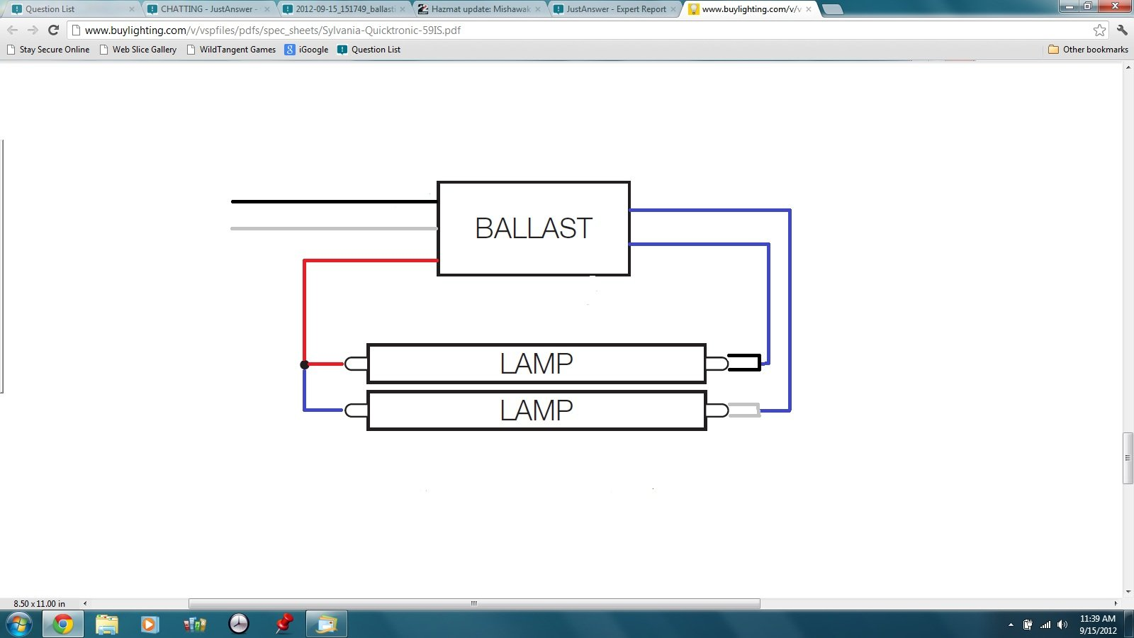 2 lamp t12 ballast wiring diagram single lamp t12 ballast wiring diagram what is the ballast wiring set up when converting from a ... #1