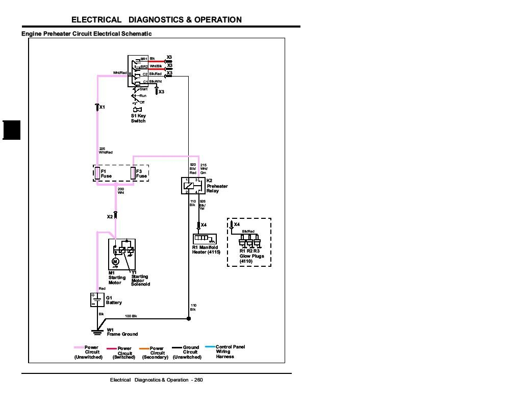 John Deere 5103 Wiring Diagram Electrical Schematics X475 5203 Ignition Explore Schematic Tractor