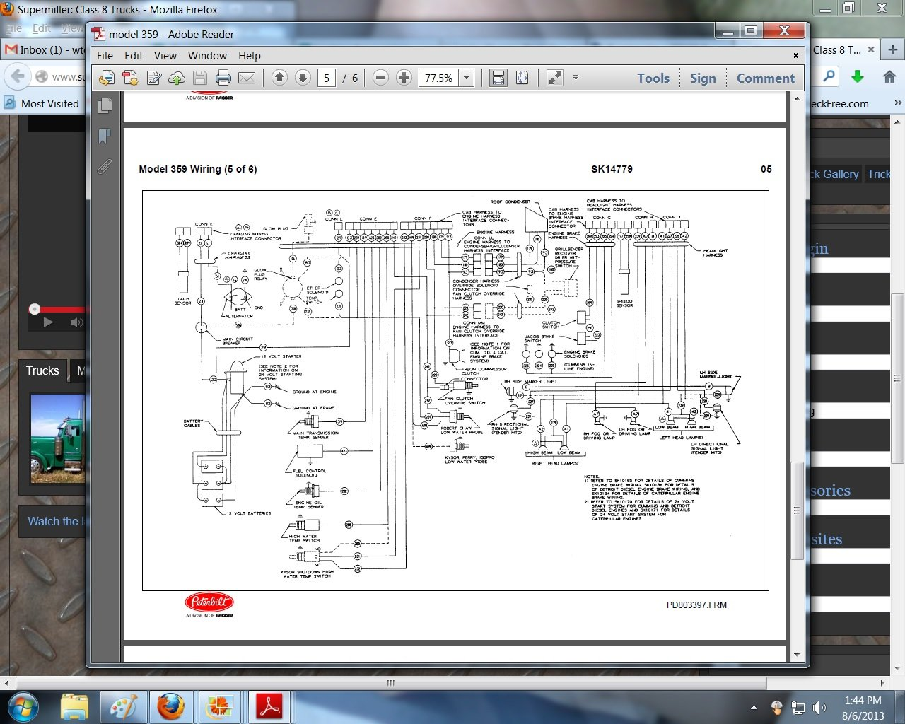 2013 08 06_184635_359_kw 359 peterbilt wiring diagram 2000 peterbilt 379 engine wiring Peterbilt 379 Electrical Diagram at crackthecode.co