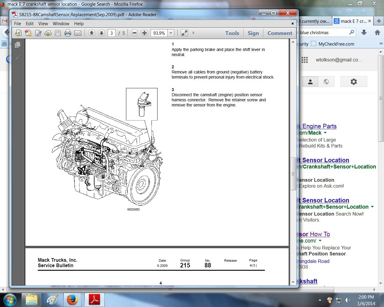 1998 chevy 350 engine diagram i have a 1997 mack truck it has a e7-350 engine it starts ... e7 350 engine diagram