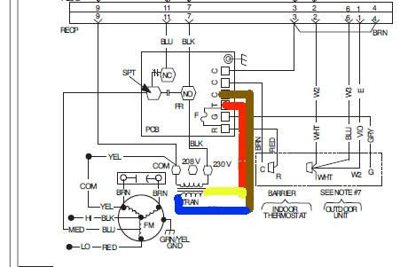 Carrier Heat Pump Wiring Diagram from ww2.justanswer.com