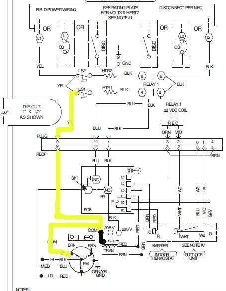 wiring diagram for heat pump
